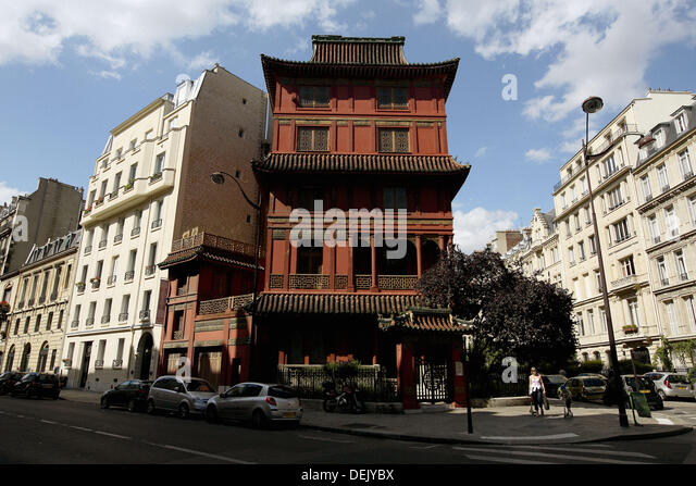 Pagoda paris stock photos pagoda paris stock images alamy for Jardin d asie 78 rue baudricourt 75013 paris
