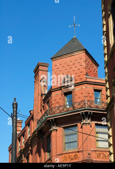 Old port maine stock photos old port maine stock images - Portland maine hotels old port district ...