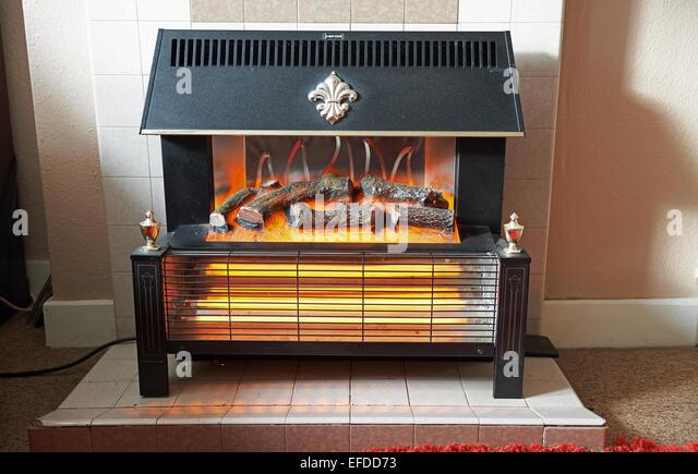 Electric Fireplace Stock Photos & Electric Fireplace Stock Images ...