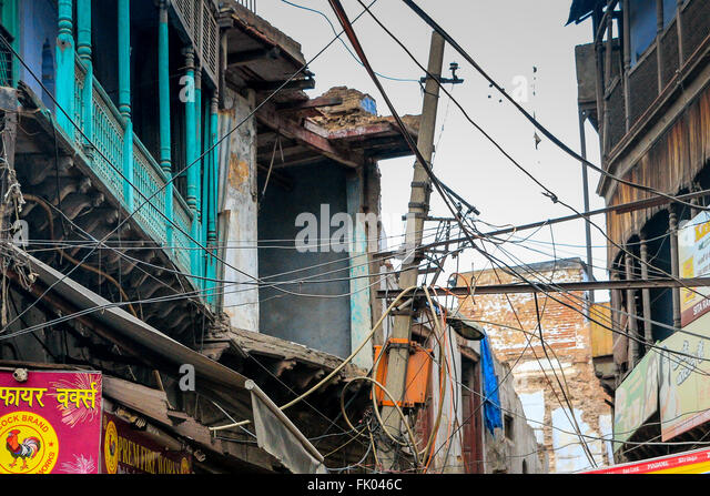 Danger From Electricity Wires And Cables Stock Photos & Danger ...
