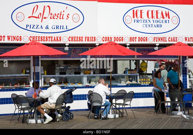 Cafe  Atlantic Avenue Atlantic City Nj