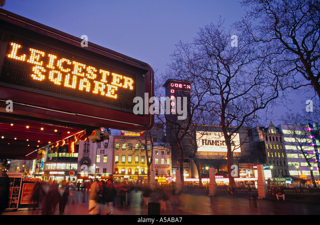 Leicester Square Stock...