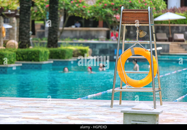 Lifeguard Swimming Pool Chair Stock Photos Amp Lifeguard