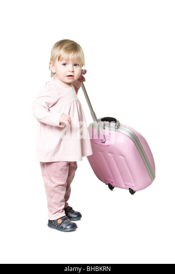 Pink Suitcase Stock Photos & Pink Suitcase Stock Images - Alamy