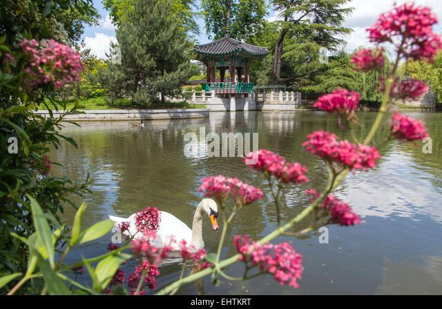 Bois De Boulogne Park Stock Photos & Bois De Boulogne Park Stock  ~ Jardin D Acclimatation Bois De Boulogne