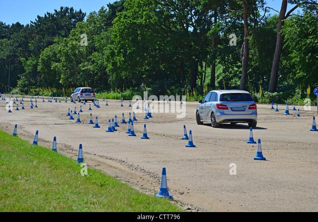 Brooklands motor racing circuit stock photos brooklands for Mercedes benz surrey uk
