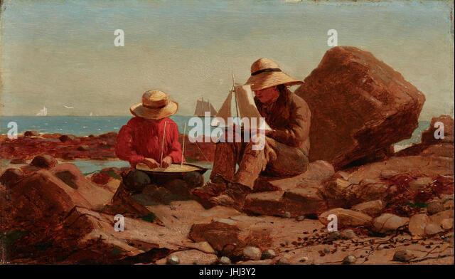 Winslow Homer Art Stock Photos & Winslow Homer Art Stock ...