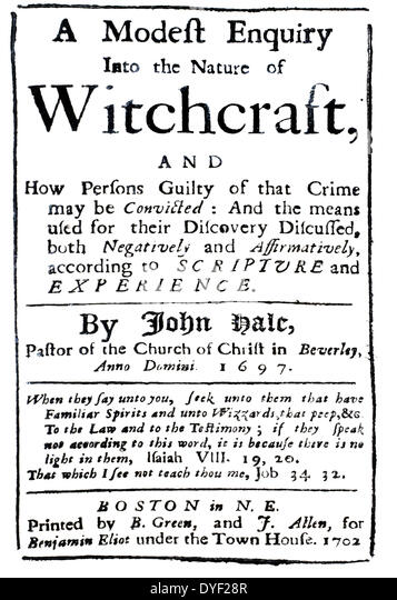 the witchcraft hysteria in the case of the infamous salem trials The bri wants to change that, because we don't want witch trials -or with  it  explodes into one of the strangest cases of mass hysteria in.