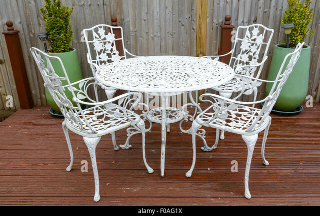 Cast Iron Patio Furniture Stock Photos Cast Iron Patio Furniture