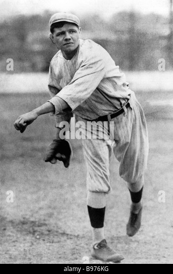 babe ruths baseball career 1895 1948 Topic page: ruth, babe george herman r (1895  ruth, babe (1895–1948) from the great depression  baseball career and flamboyant private life engrossed the .