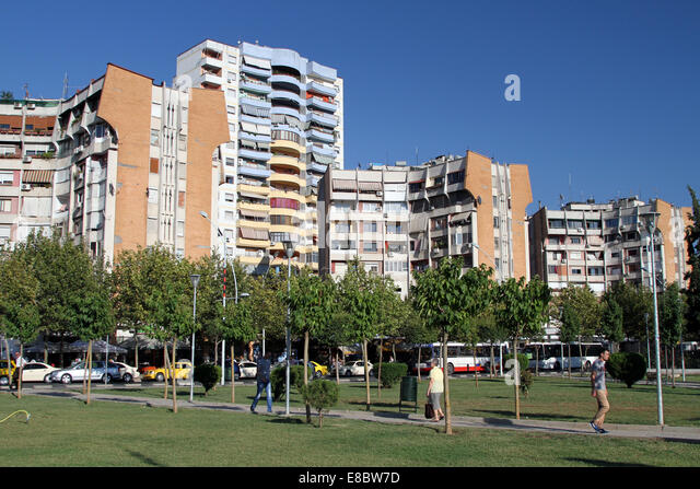 Tirana buildings stock photos tirana buildings stock for Apartment overlooking central park