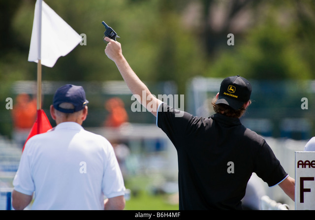 track meet referee confirmation