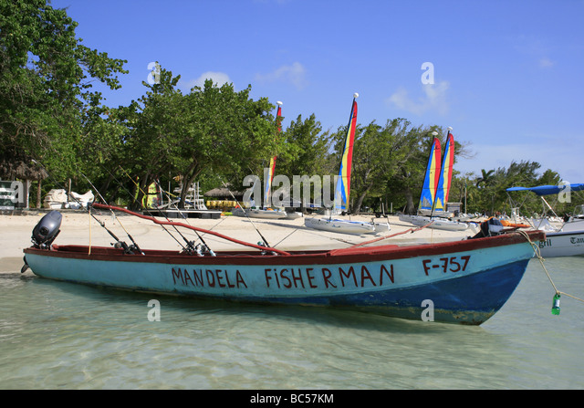 fishing boat jamaica stock photos fishing boat jamaica