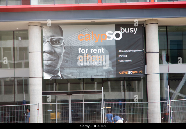 image of a black man used in advertising office space for rent rotterdam netherlands stock advertising office space
