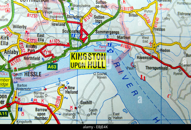 Map Of Kingston Stock Photos Map Of Kingston Stock Images Alamy