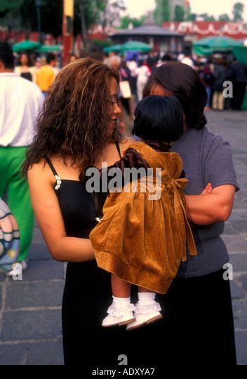 Mexicans Mexican People Adults Young Stock Photos