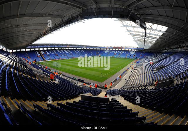 Football Ground Leicester Stock Photos & Football Ground