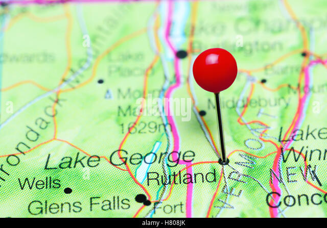Vermont State Map Stock Photos Vermont State Map Stock Images - Vermont in usa map