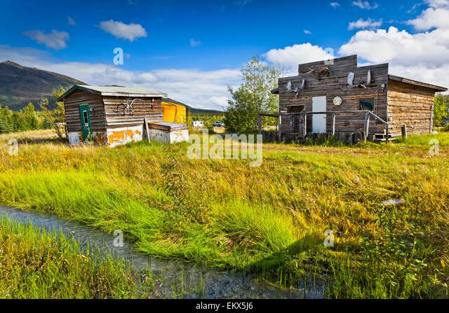 Alaska gold mining camps