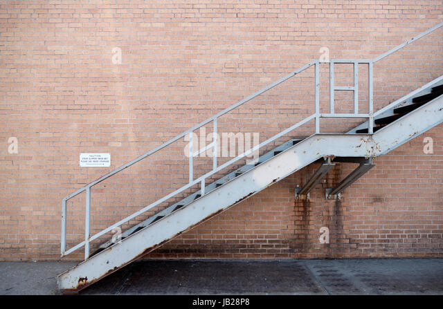 exterior brick stairs rusty staircase stock photos rusty staircase stock images alamy