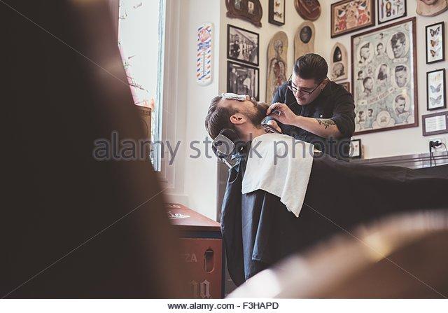 barbershop stock photos barbershop stock images alamy. Black Bedroom Furniture Sets. Home Design Ideas
