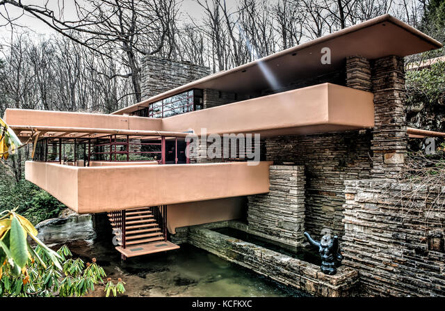 Wright family home stock photos wright family home stock for Home run architecture