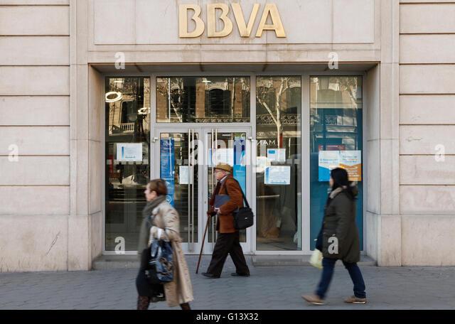 Bbva stock photos bbva stock images alamy for Banco bilbao vizcaya oficinas
