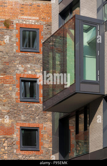 Protruding balcony stock photos protruding balcony stock for Uses of balcony