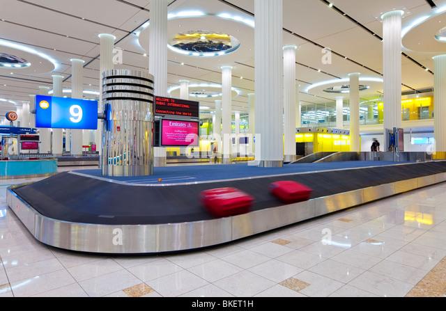 Baggage airport conveyor belt stock photos baggage for International decor dubai