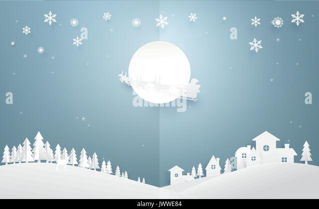 santa claus flying over city stock photos   santa claus Santa Claus Face Template Printable Santa Claus Sleigh