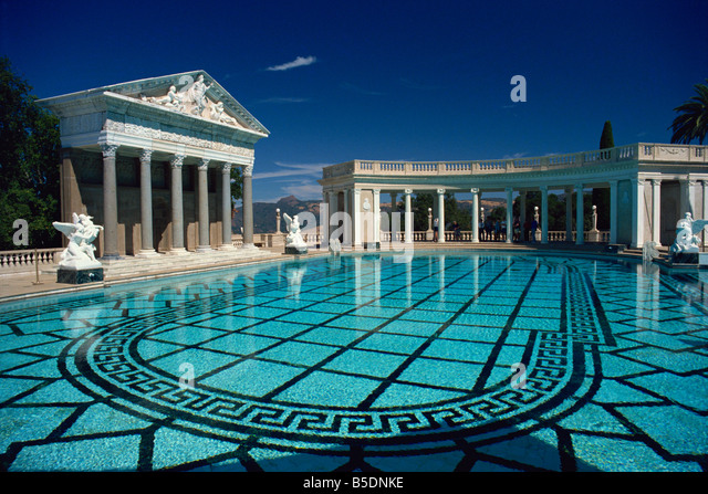 Hearst castle pool stock photos hearst castle pool stock - Is there a swimming pool in buckingham palace ...