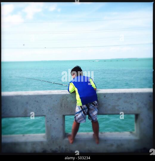 Florida fish stock photos florida fish stock images alamy for Little boy fishing