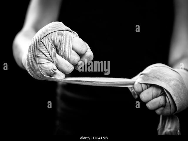 Woman Boxer Hands Stock Photos & Woman Boxer Hands Stock ...