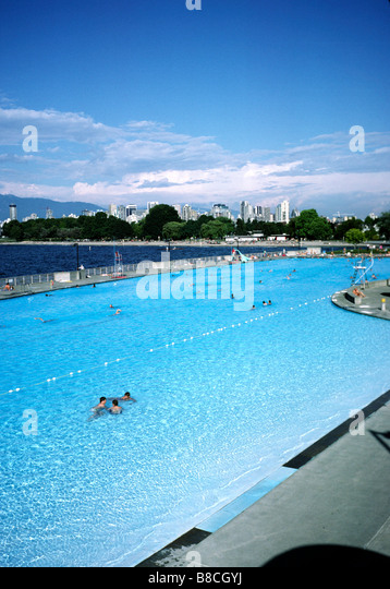 Kitsilano Swimming Pool Stock Photos Kitsilano Swimming