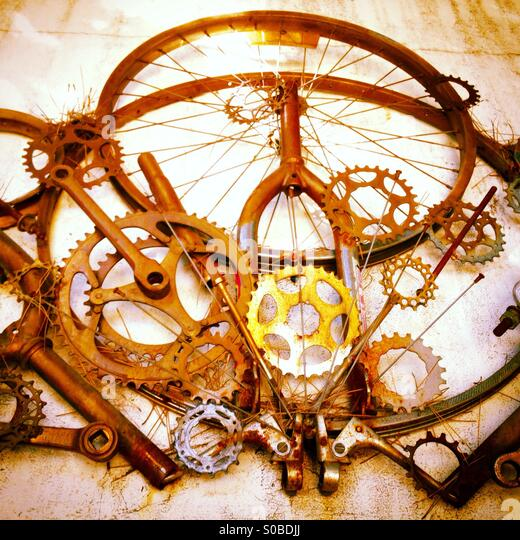 Bicycle Parts Stock Photos & Bicycle Parts Stock Images - Alamy