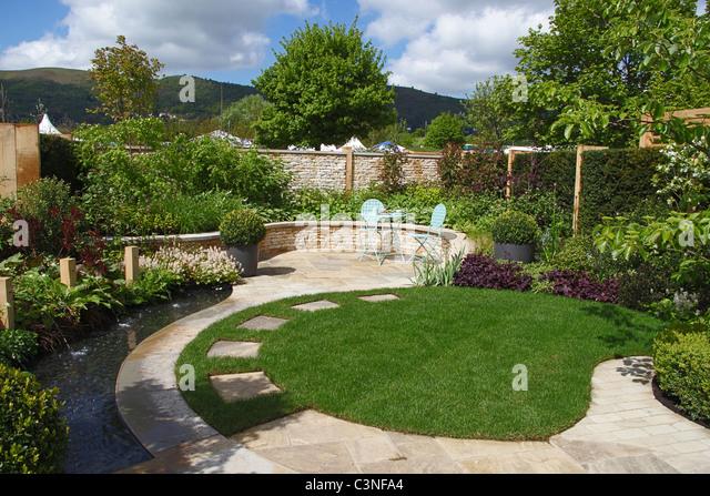 Show garden stock photos show garden stock images alamy for Garden design knutsford