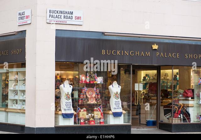 Buckingham palace shop stock photos amp buckingham palace shop stock