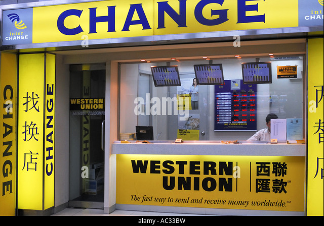 Exchange office western union bank stock photos exchange office western union bank stock - Western union bureau de change ...