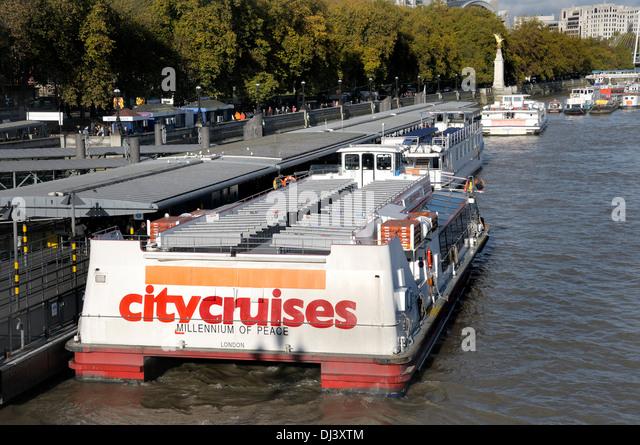 City Cruises London Thames Stock Photos Amp City Cruises