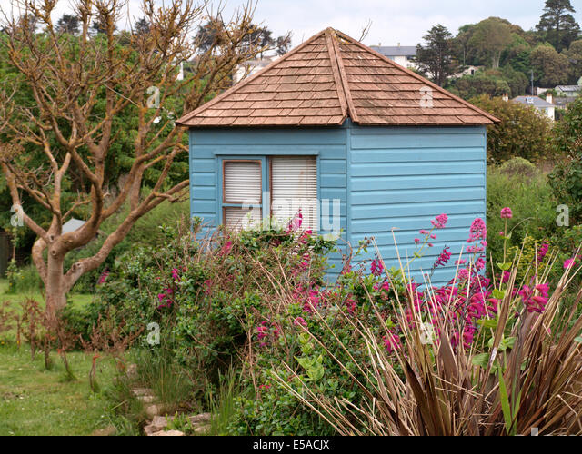 Glass House Patc Cabin : Garden shed window stock photos