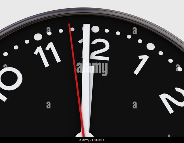 black and white clock stock photos black and white clock stock images alamy. Black Bedroom Furniture Sets. Home Design Ideas