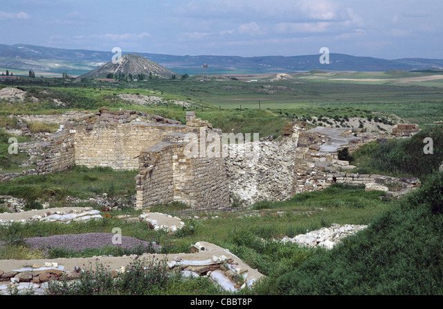 Midas Tumulus Main Gate Gordion Stock Photos & Midas ...