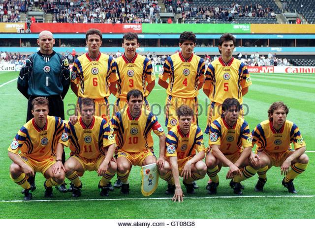 Romanian Soccer Team Ioan Lupescu St...