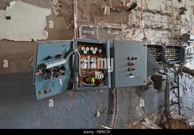 old fuse boxes stock photos old fuse boxes stock images alamy ramshackle fuse boxes in a former brewery neustadt an der aisch middle franconia