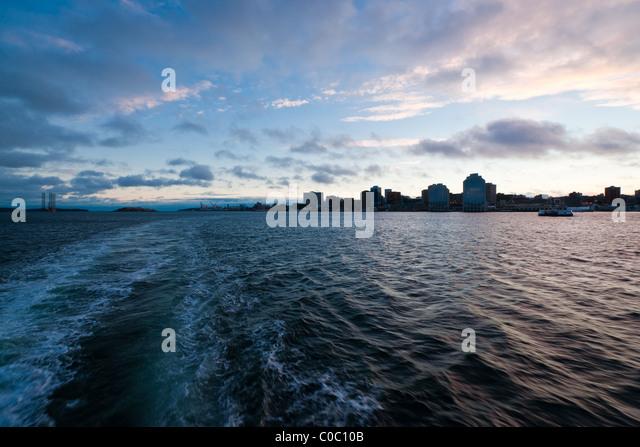 Dusk over the Atlantic Wharf Paper