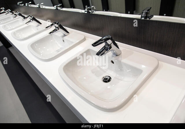 Public Bathroom Sink public restroom sinks stock photos & public restroom sinks stock