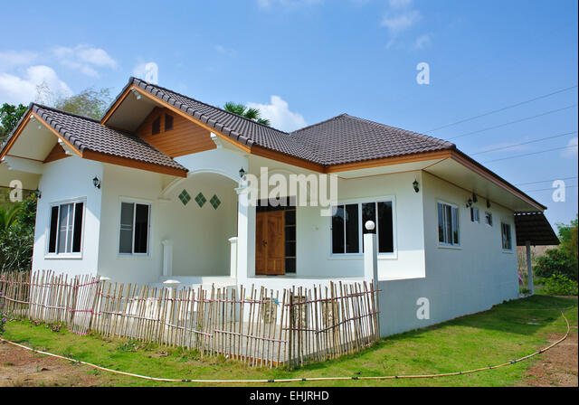 Modern thai house model