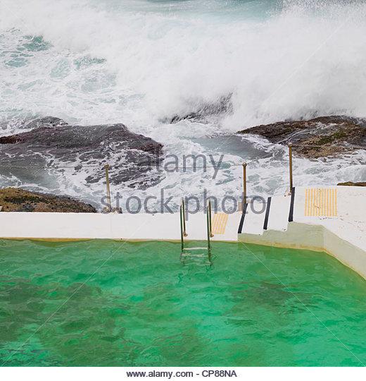 Bondi Beach Rock Pool Stock Photos Bondi Beach Rock Pool Stock Images Alamy
