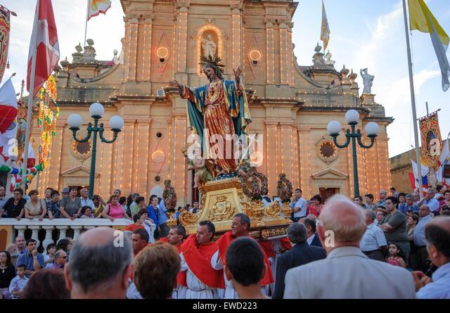 Maltese Religious Festival Stock Photos & Maltese Religious ...
