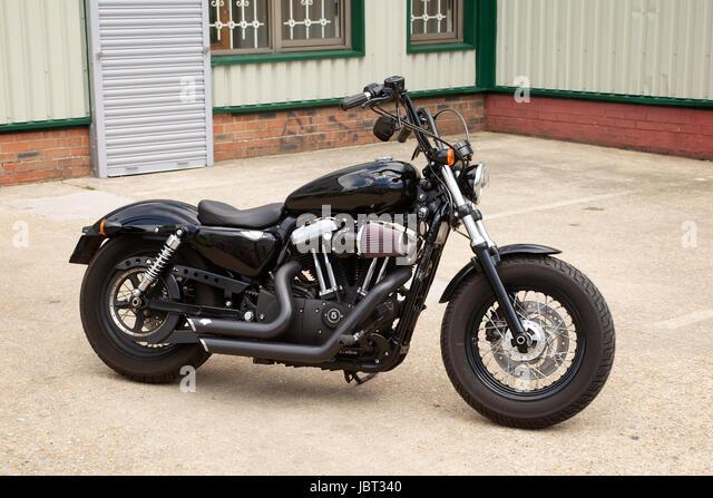 Harley Davidson 48 Sportster Motorcycle Stock Photos & Harley ...